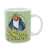 The Muppets Kermit Mug (Green)