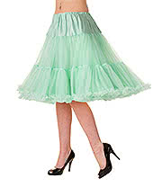 "Banned Walkabout 20"" Petticoat (Mint)"