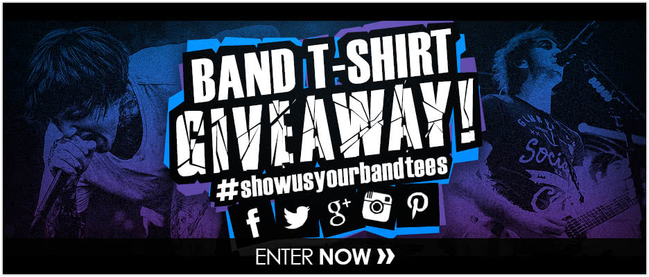 Band T-Shirt Giveaway