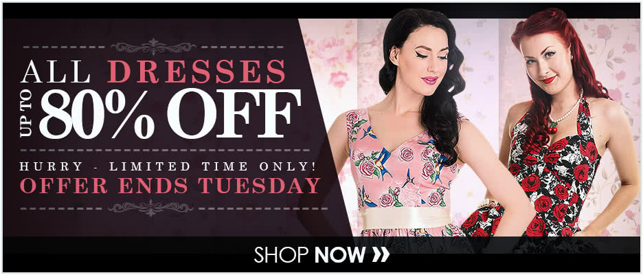 All Dresses up to 80% OFF