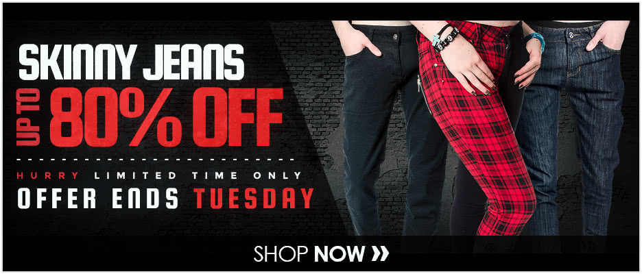 Skinny Jeans up to 80% OFF