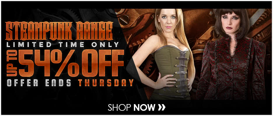 Steampunk Range up to 54% OFF