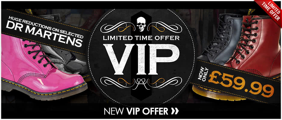 VIP Accounts - Dr Martens Offer