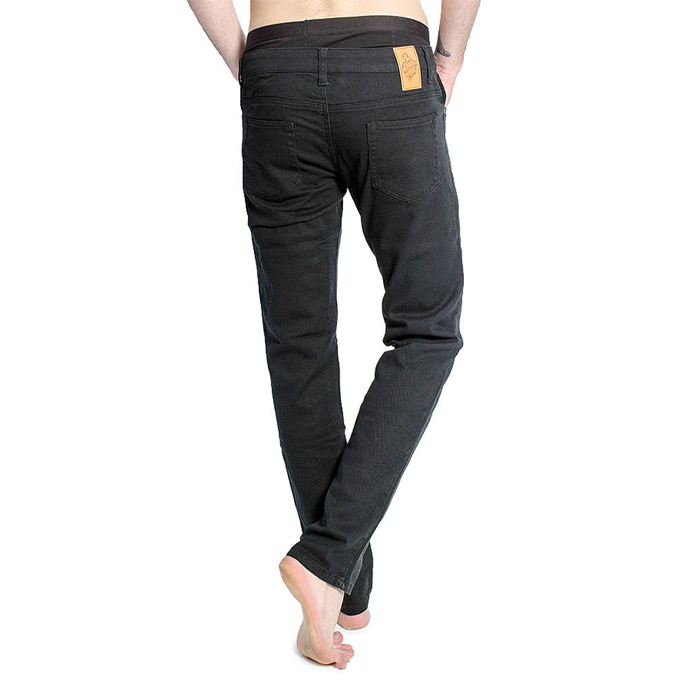 Bleeding Heart Men's Skinny Fit Jeans (Black)
