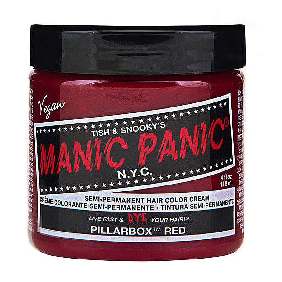 Manic Panic Classic Semi-Permanent Hair Dye 118ml (Pillarbox Red)
