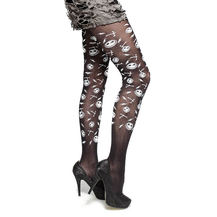 Blue Banana Pumpkin Tights (Black)