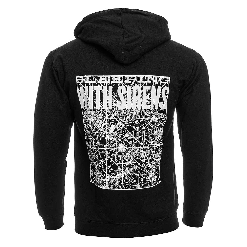 Sleeping With Sirens Starmap Hoodie (Black)