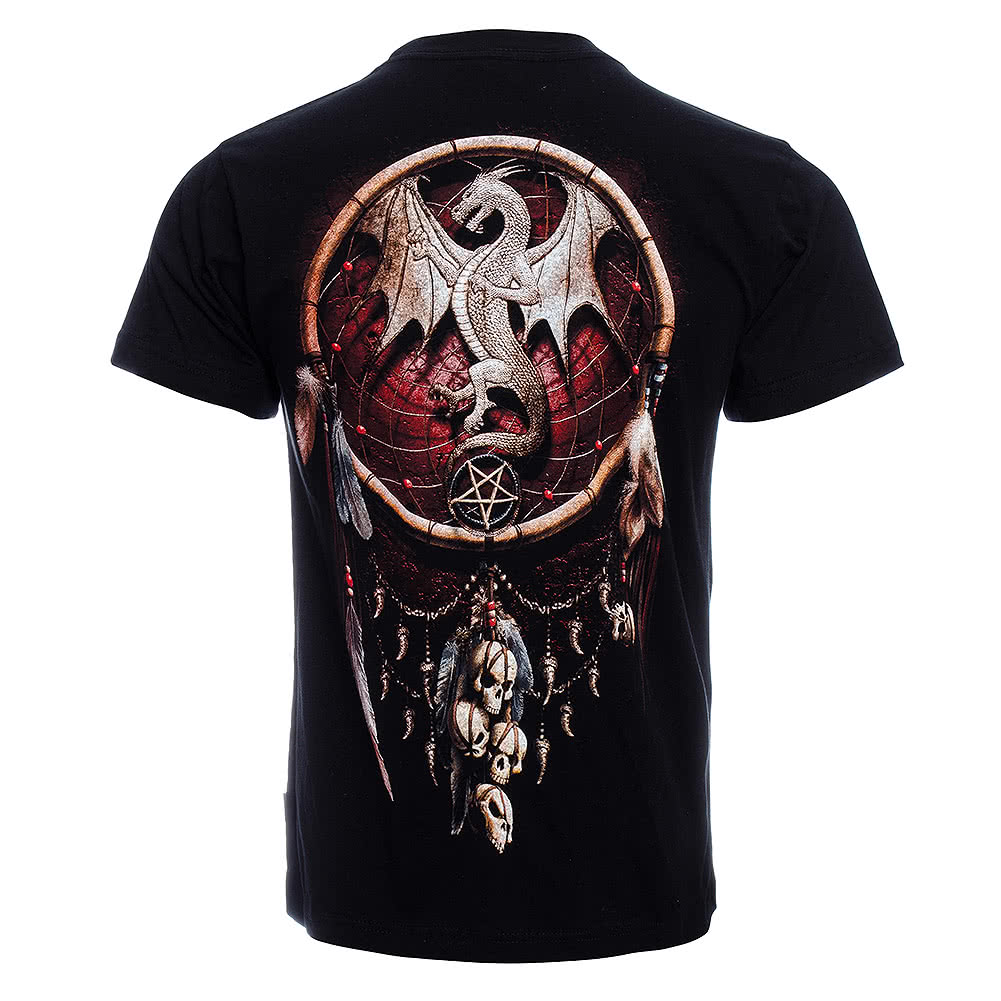 Spiral Direct Dragon Catcher T Shirt (Black)