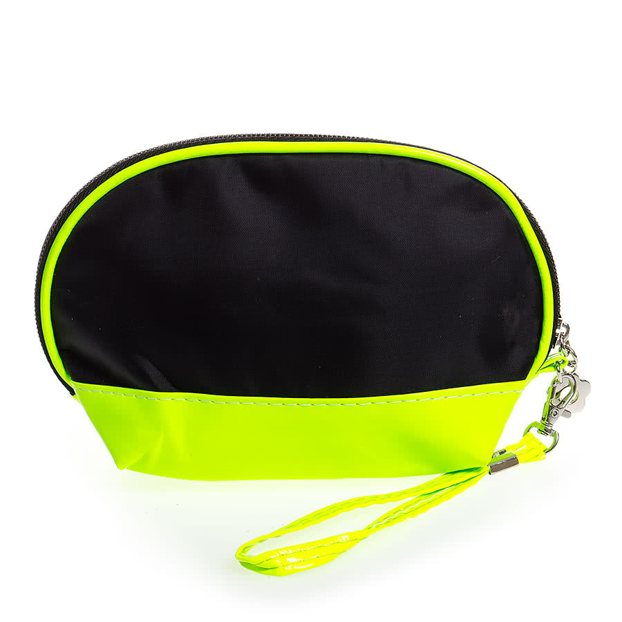 Blue Banana Make Up Bag (Black/Yellow Trim)