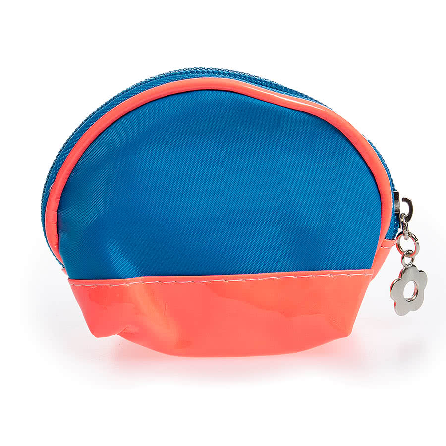 Blue Banana Mini Purse (Blue/Pink)