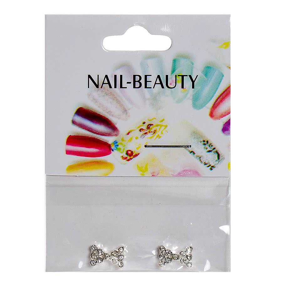 Blue Banana Nail Art 2PK (Clear Bow)