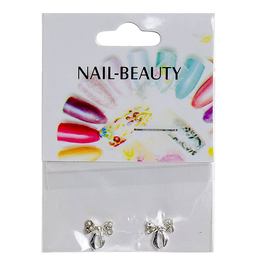Blue Banana Nail Art 2PK Tied Bow
