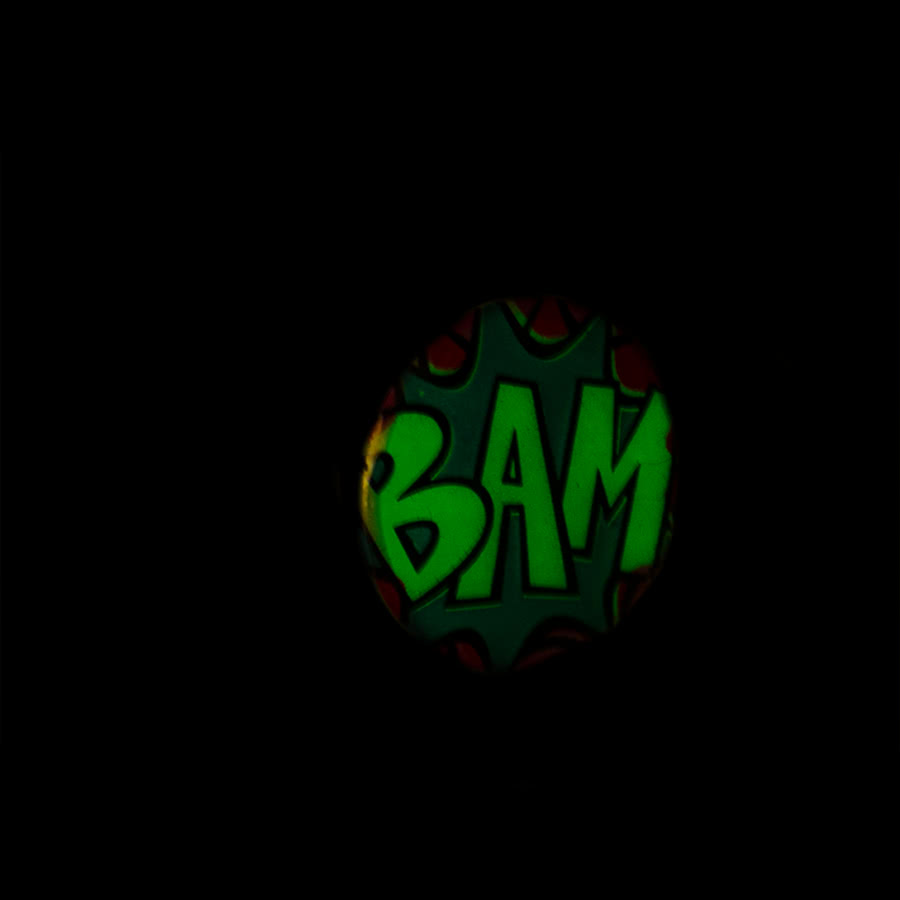 Blue Banana Glow In The Dark BAM Plug (White)