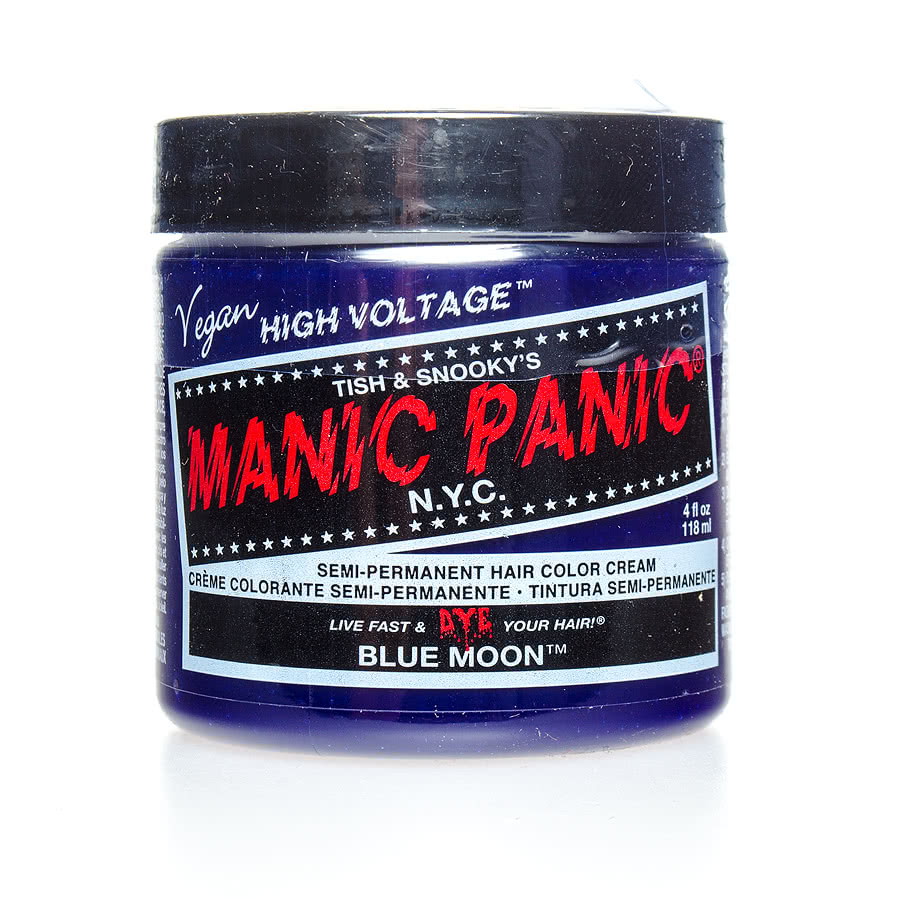 Manic Panic Classic Semi-Permanent Hair Dye 118ml (Blue Moon)
