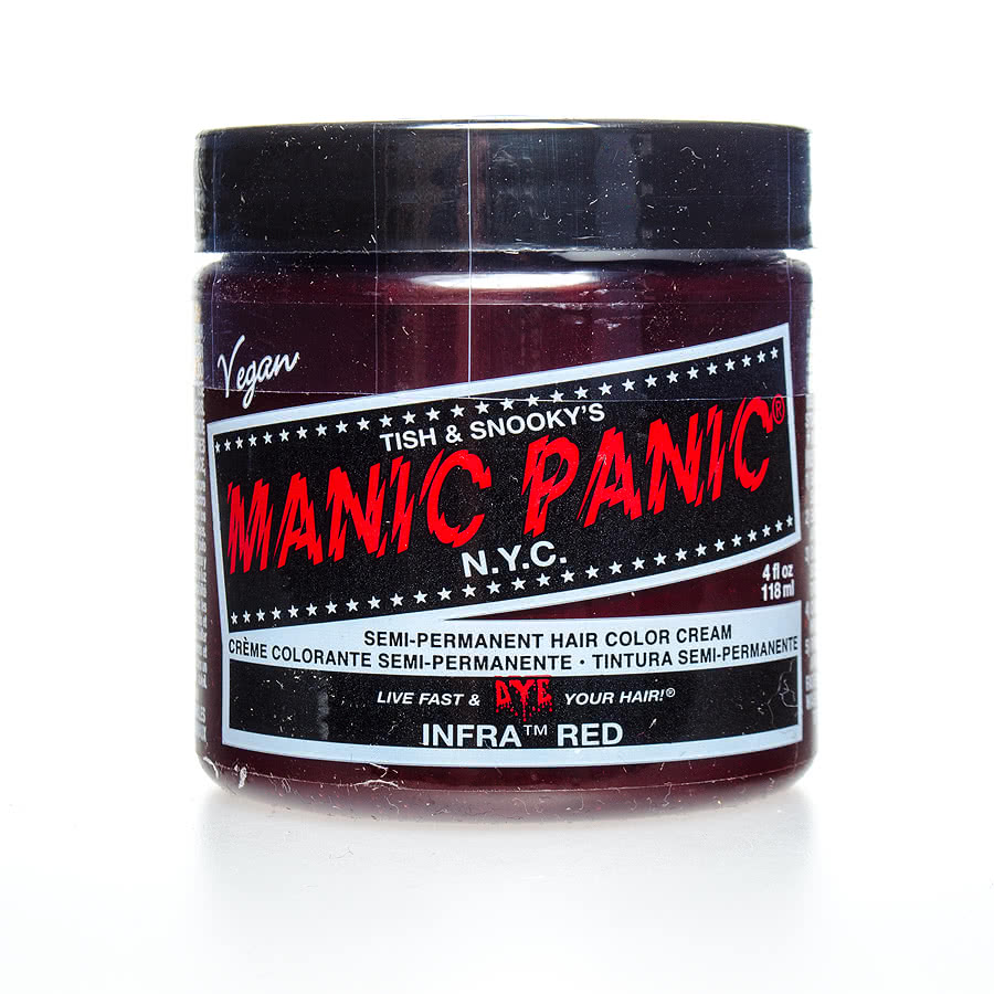 Manic Panic Classic Semi-Permanent Hair Dye 118ml (Infra Red)