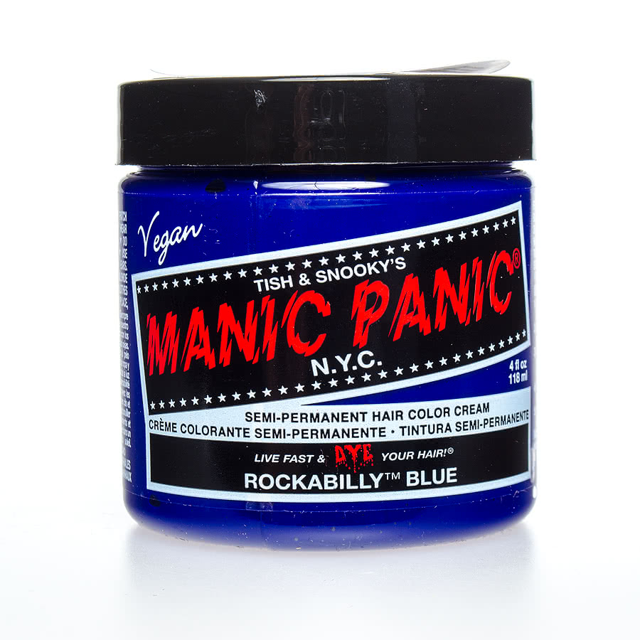 Manic Panic Classic Semi-Permanent Hair Dye 118ml (Rockabilly Blue)