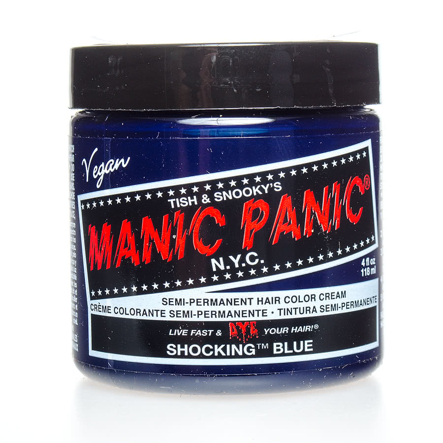 Manic Panic Classic Semi-Permanent Hair Dye 118ml (Shocking Blue)