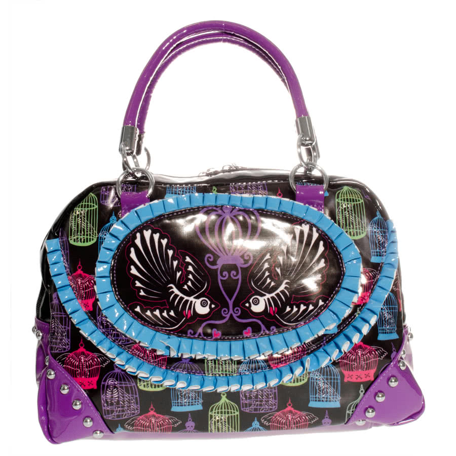 Too Fast Birdcage Bag (Multi-Coloured)