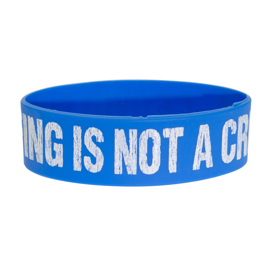 Blue Banana Crowd Surfing Wristband (Blue)