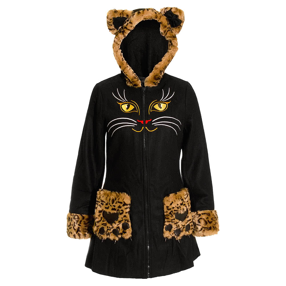 Banned Cats Eyes Coat (Black)