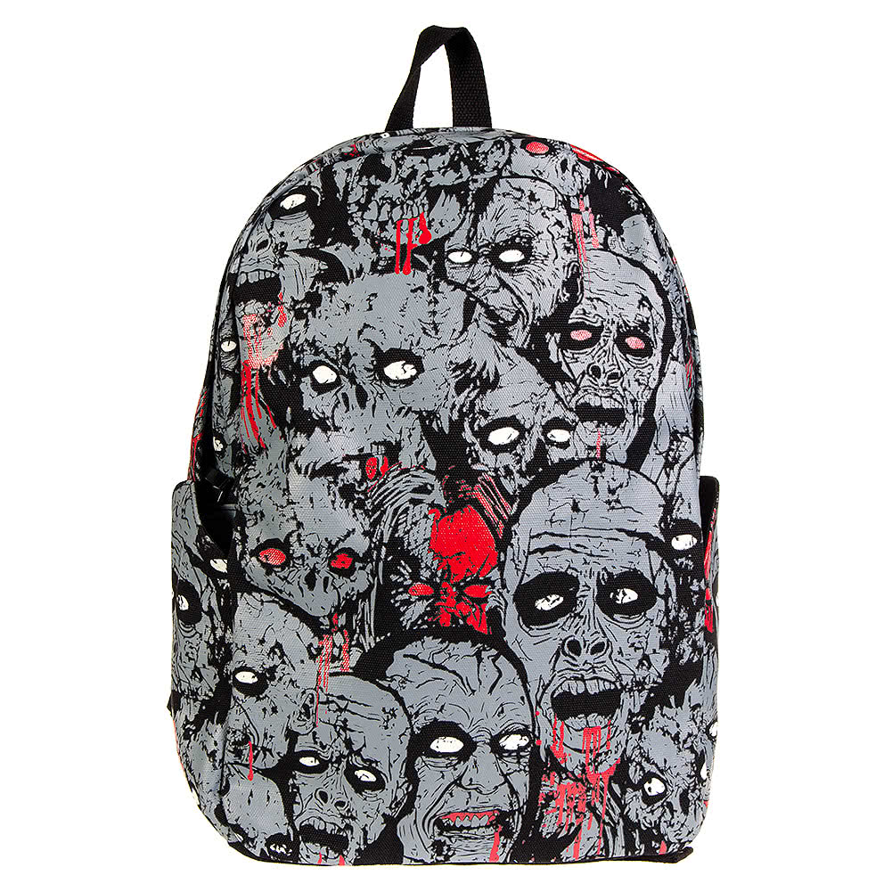 Banned Zombie Backpack (Grey)