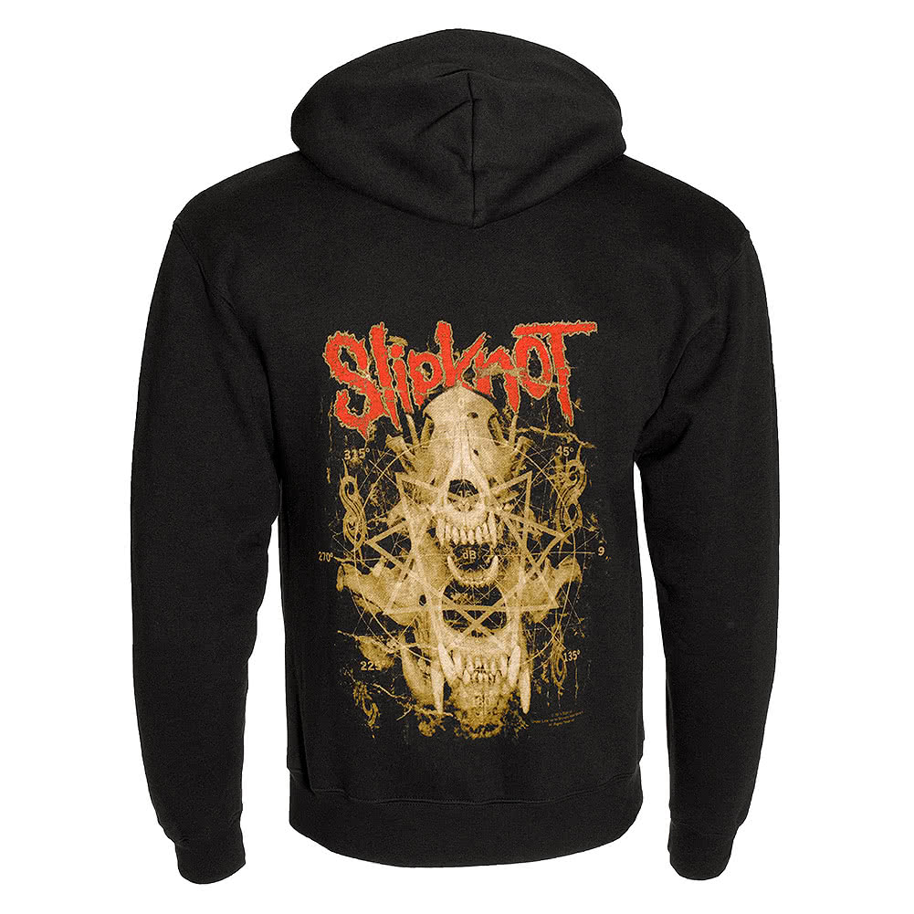 Slipknot Skull Teeth Hoodie (Black)