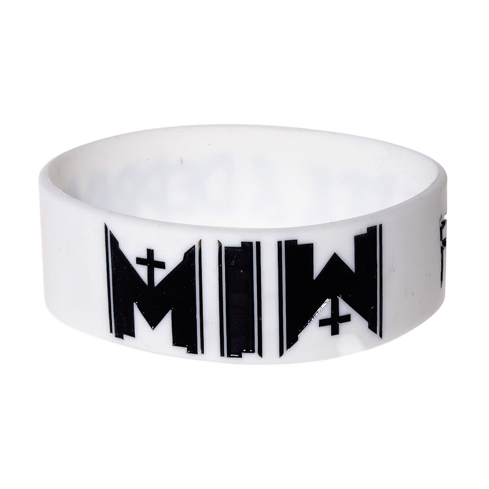 Motionless In White Wristband (White)