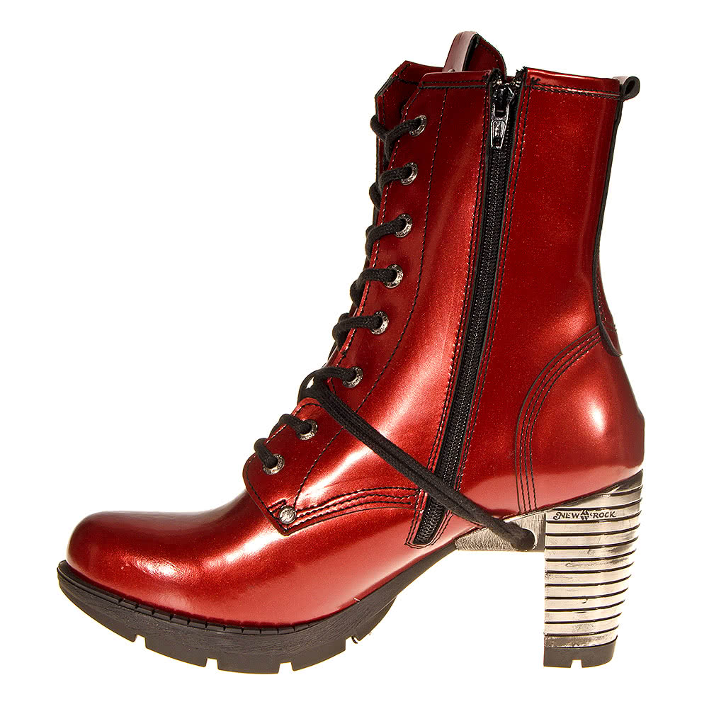 New Rock Boots Style TR001 (Red)