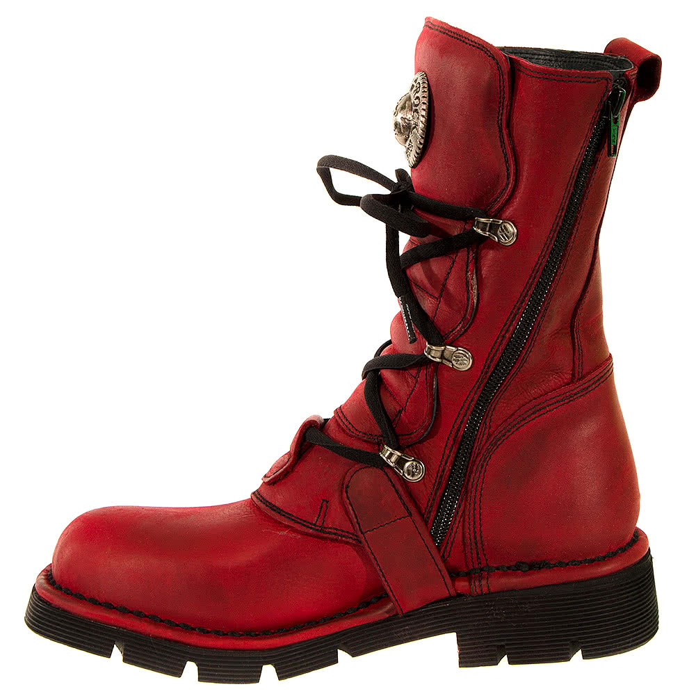 New Rock Boots Style 1473 (Red)