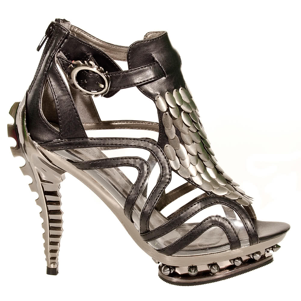 Hades Orion Stiletto Shoes (Black)