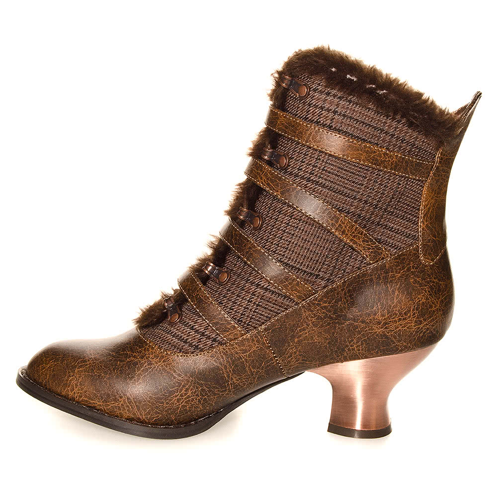 Hades Nephele Boots (Brown)