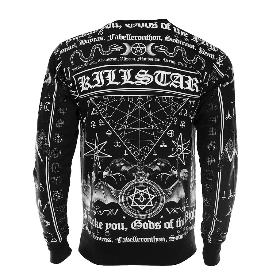 Killstar Spell Sweatshirt (Black)