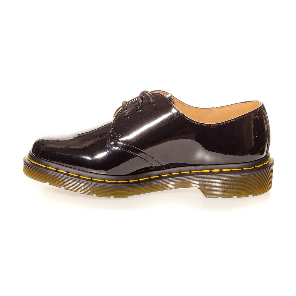 Dr Martens 1461 Patent Shoes (Black)