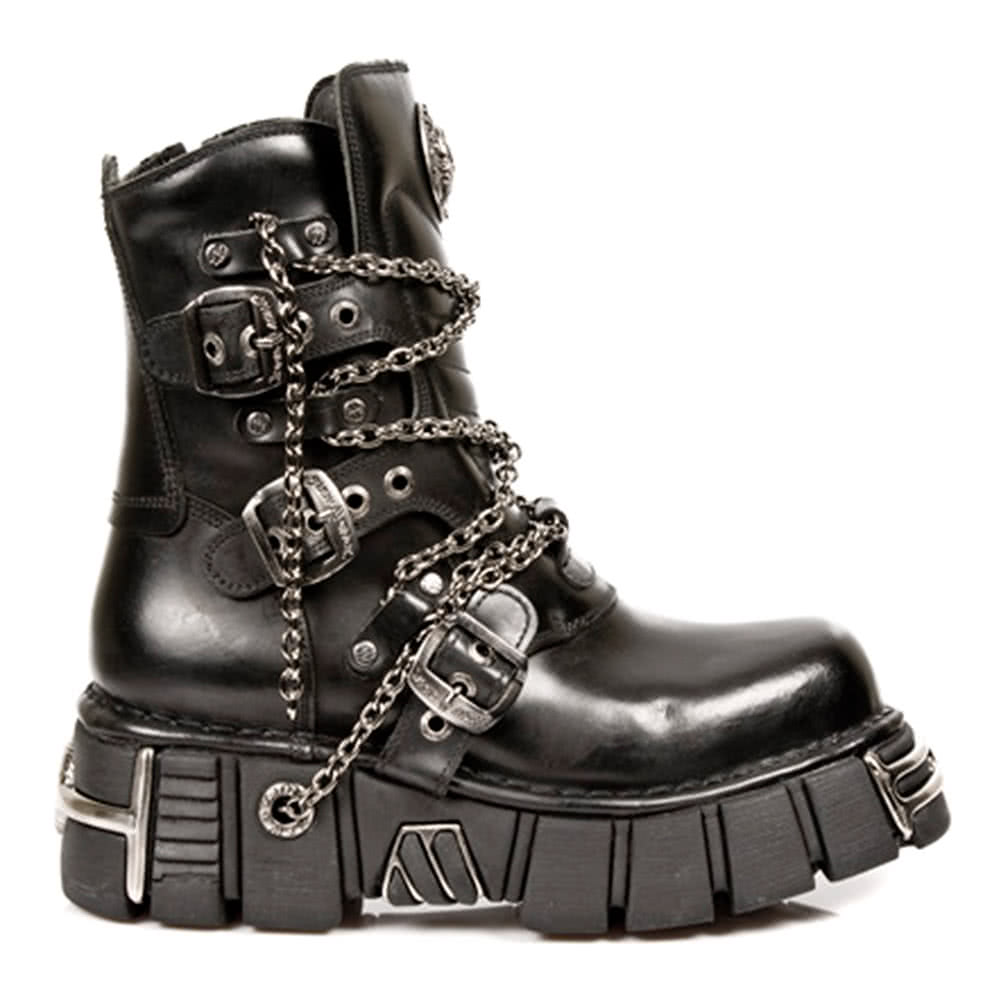 New Rock Boots Style M1011-S1 (Black)