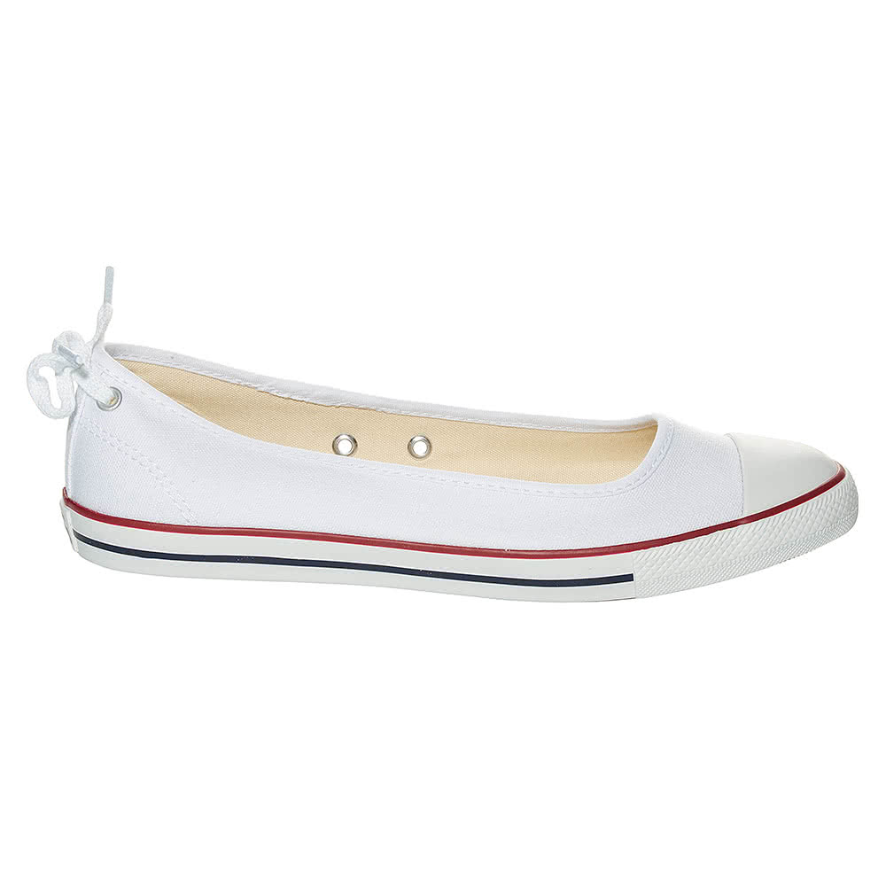 converse dainty ballerina shoes white blue banana uk. Black Bedroom Furniture Sets. Home Design Ideas