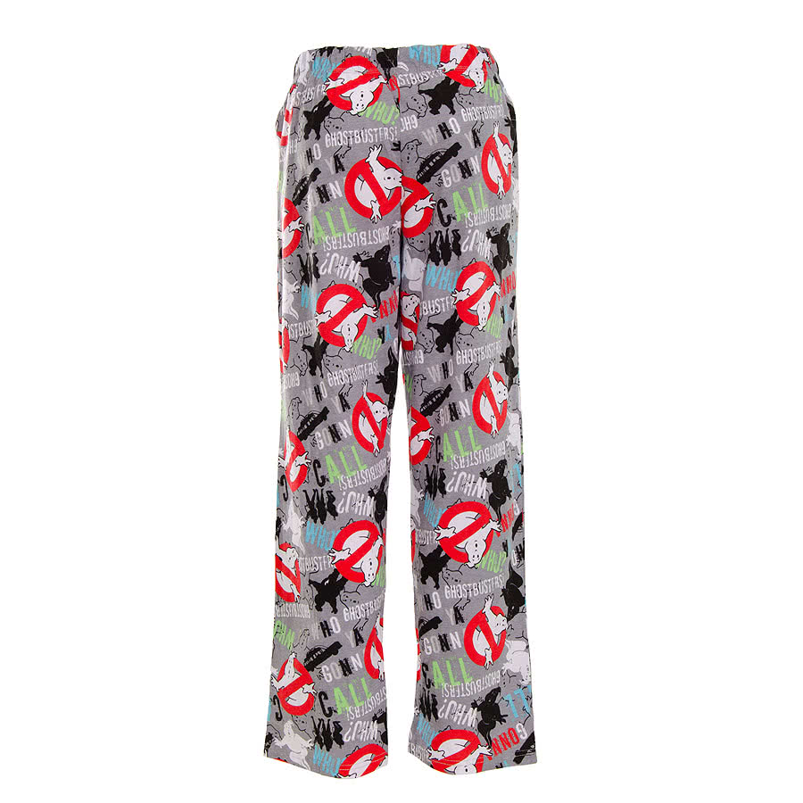 Ghostbusters Ghosts And Ghouls Lounge Pants (Multi-Coloured)