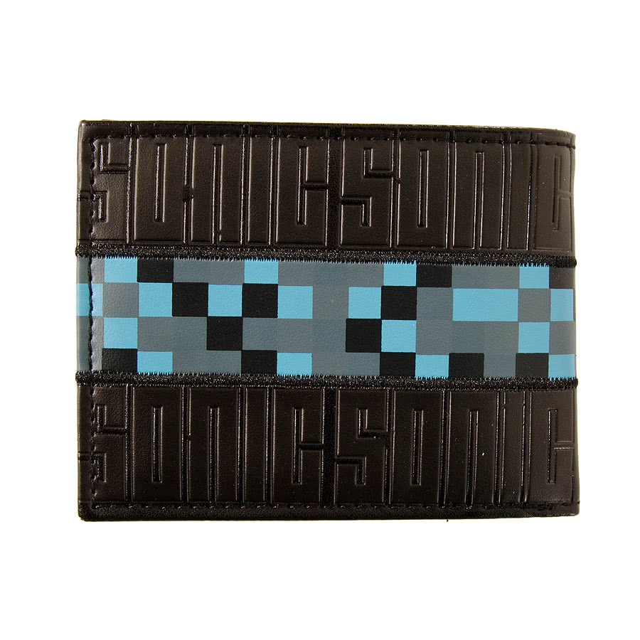 SEGA Sonic Running Wallet (Black)