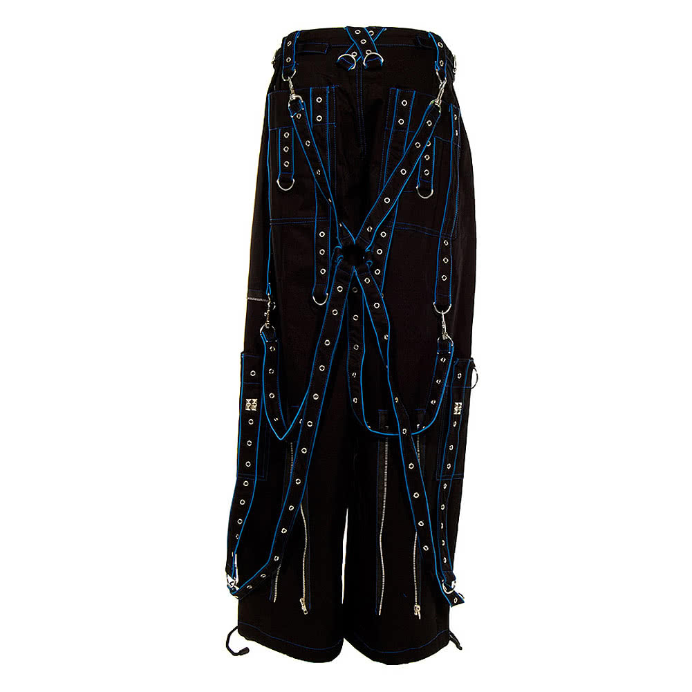 Dead Threads Terror Trousers (Black/Blue)