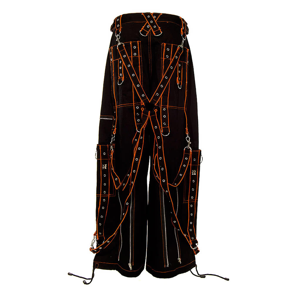 Dead Threads Terror Trousers (Black/Orange)