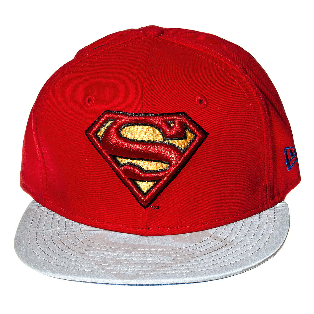 New Era DC Comics Superman Reflective Baseball Cap (Red)
