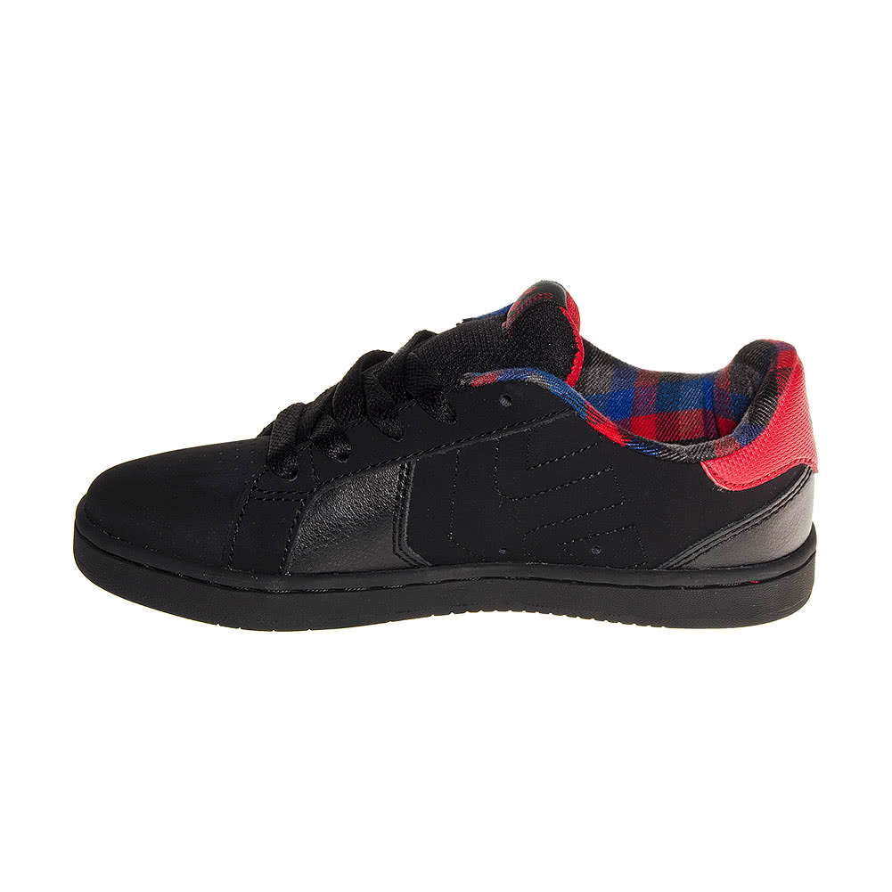 Etnies Fader LS Kids Trainers (Black/Red)