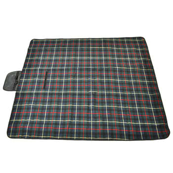 Waterproof Picnic Blanket 150cm X 130cm (Green)