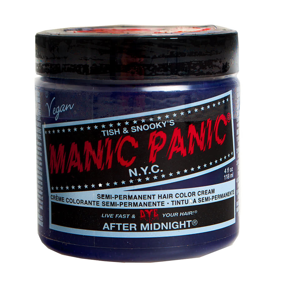 Manic Panic Classic Semi-Permanent Hair Dye 118ml (After Midnight)