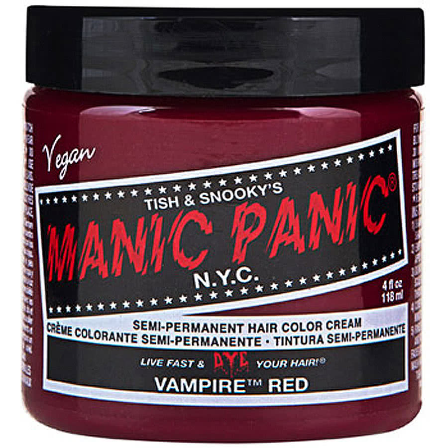 Manic Panic Classic Semi-Permanent Hair Dye 118ml (Vampire Red)