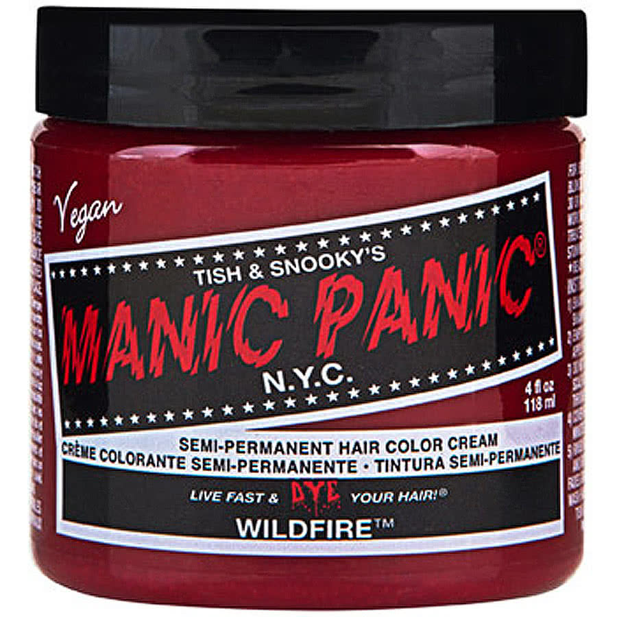 Manic Panic Classic Semi-Permanent Hair Dye 118ml (Wildfire Red)