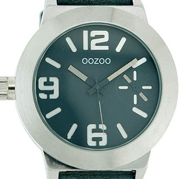 Oozoo Watch Style C3720 (Blue/Silver)