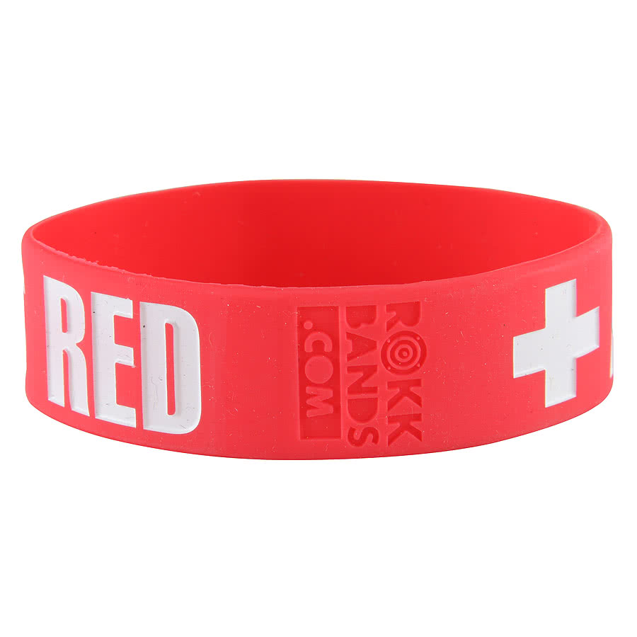 Rokk Bands August Burns Red Wristband (Red)