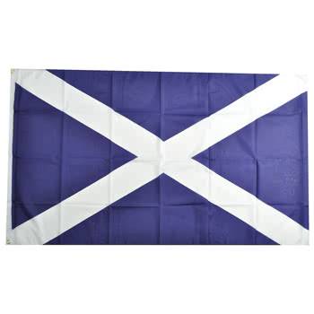 Blue Banana Scotland Flag
