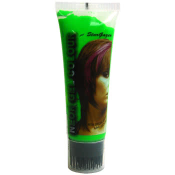 Stargazer UV Hair Gel (Green)