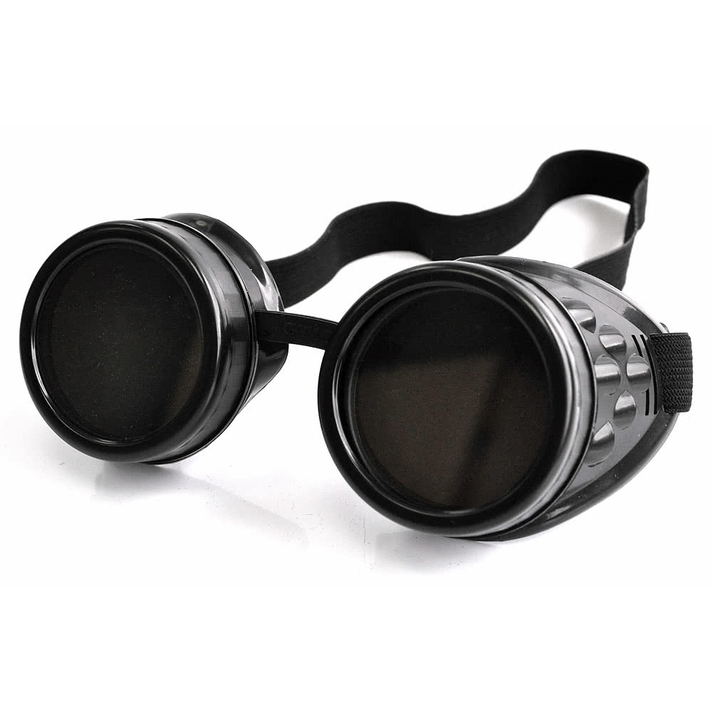Poizen Industries CG1 Steampunk Goggles (Black)